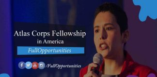 Atlas Corps Fellowship in America 2020-2021 (Fully Funded)