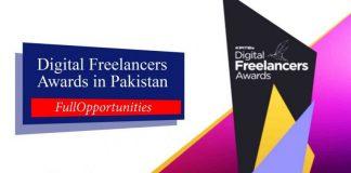 Digital Freelancers Awards 2019 in Pakistan
