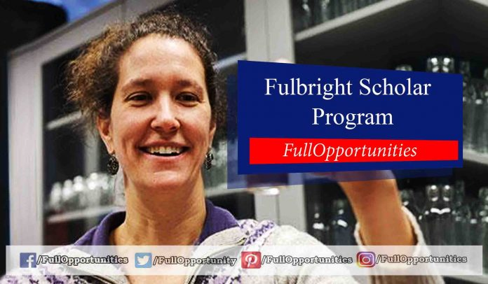 Fulbright Scholar Program 2020-2021 (Fully Funded)