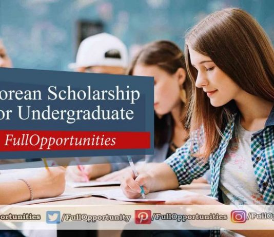Korean Scholarship 2020 for Undergraduate