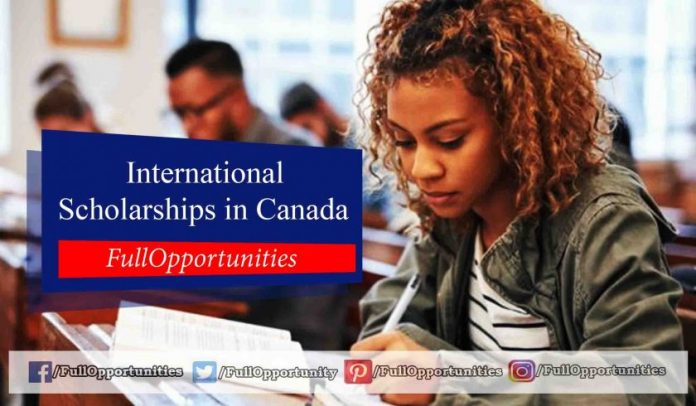 Lester B. Pearson International Scholarships in Canada
