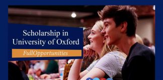 Scholarship in University of Oxford 2020 (Fully Funded)