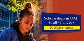 Scholarships in UAE 2020