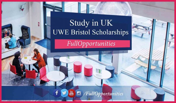 UWE Bristol Postgraduate Scholarships in UK 2020