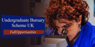 Undergraduate Bursary Scheme UK 2020 - University of Bradford
