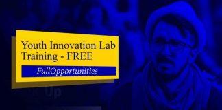 Youth Innovation Lab Training