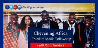 Chevening Africa Freedom Media Fellowship