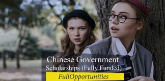 Chinese Government scholarships 2021 (Fully Funded)