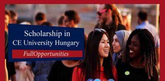 Scholarships in Central European University Hungary 2020