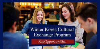 Winter Korea Cultural Exchange Program 2020 in Seoul