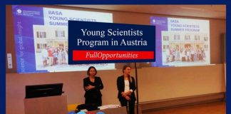 Young Scientists Program in Austria
