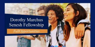 Dorothy Marchus Senesh Fellowship Program 2020