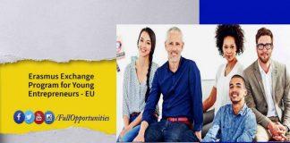 Erasmus Exchange Program for Young Entrepreneurs 2020
