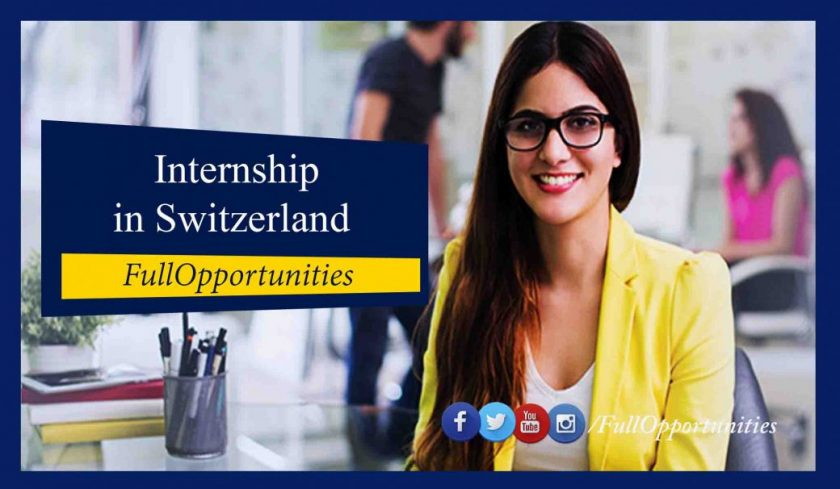 ETH Internship in Switzerland