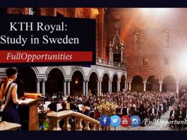 KTH Royal Institute Scholarship