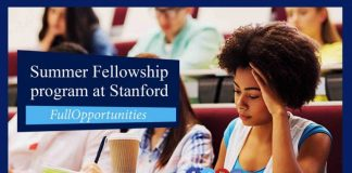 Summer Fellowship program at Stanford
