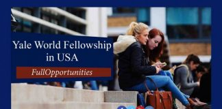 Yale World Fellowship in USA
