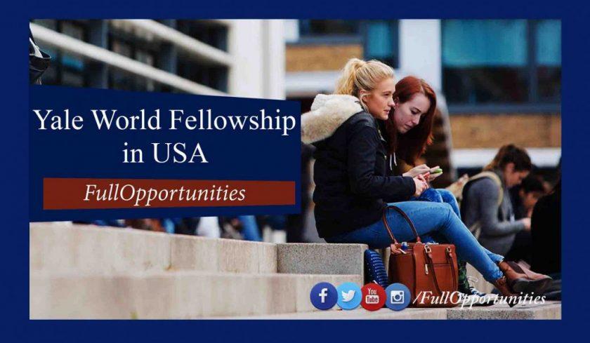 Yale World Fellowship in USA