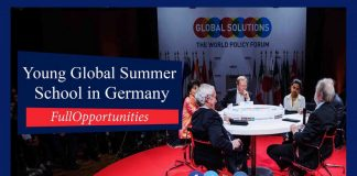 Young Global Changers Summer School in Germany