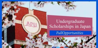 APU Scholarship in Japan