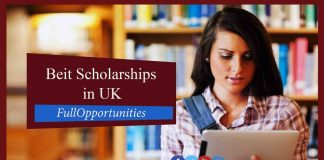 Beit Scholarships in uk
