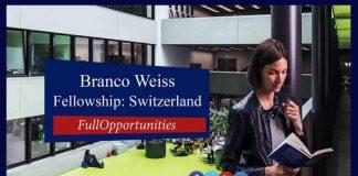 Branco Weiss Fellowship