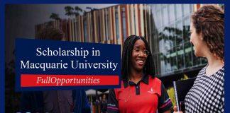 Macquarie University Scholarship