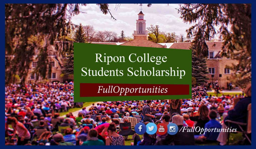 Ripon College International Students Scholarship in USA 2020