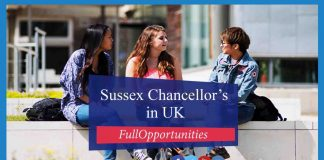 Sussex Chancellor's Scholarship