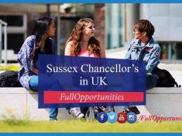 Sussex Chancellor's Scholarship