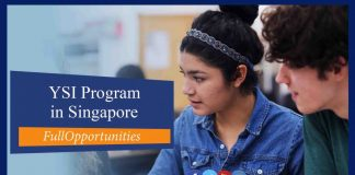 YSI Program in Singapore