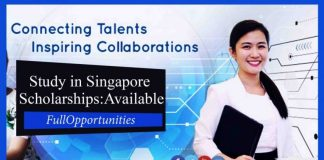 Graduate Award Scholarships in Singapore