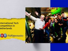 International Tech competition in Netherlands