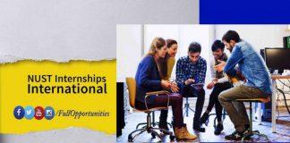 NUST Internships Program 2020 - International Internship