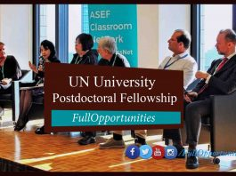 Postdoctoral Fellowship Programme