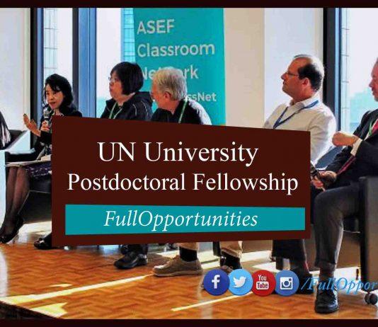 Postdoctoral Fellowship Programme