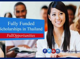 Royal Thai Government Scholarships in Thailand