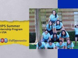 Summer Internship in USA