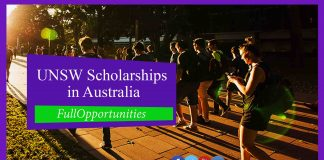 UNSW Scholarships