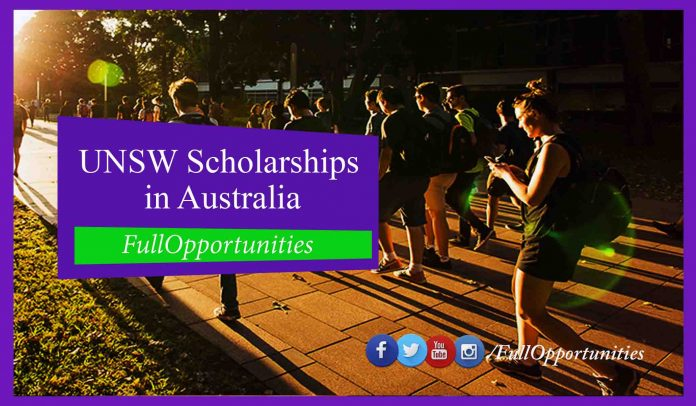 UNSW Scholarships