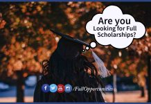 full Scholarships in China