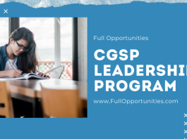CGSP Leadership Program