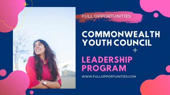 Commonwealth Youth Council Leadership Program 2020