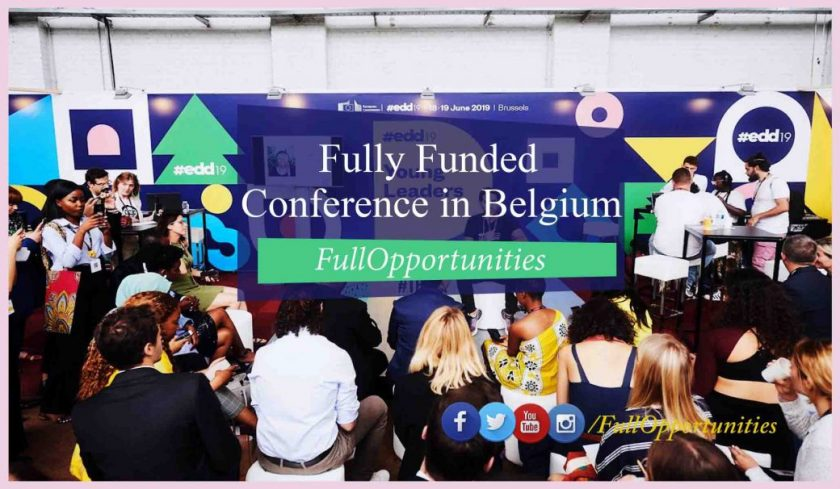 EDD Leadership Program in Belgium 2020 - Fully Funded