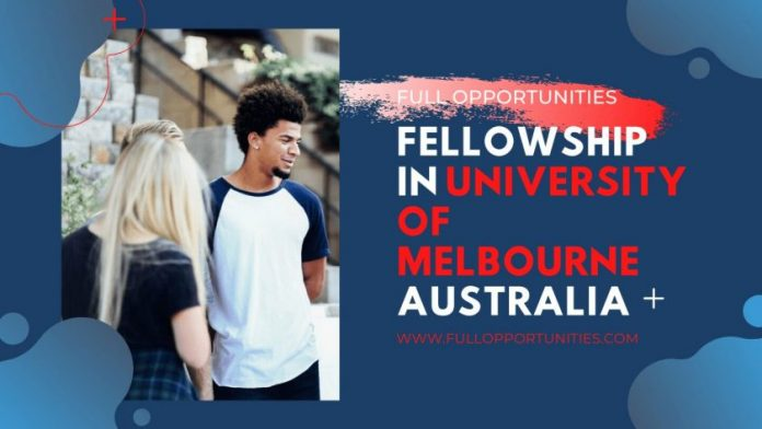 Fellowship in University of Melbourne