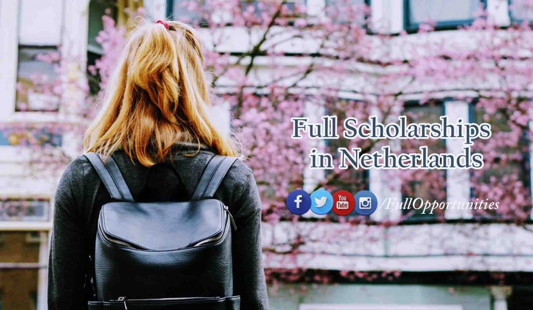 full scholarships in Netherlands