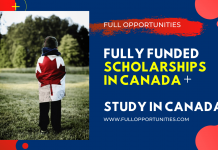 Fully Funded Scholarships in Canada