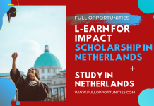 L-EARN for Impact Scholarship in Netherlands
