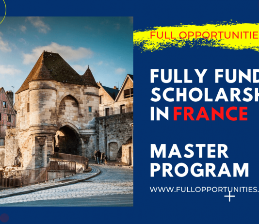 Masters Scholarships in France