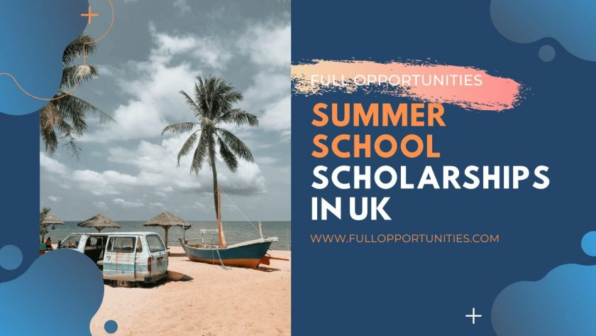 Summer School Scholarships in UK